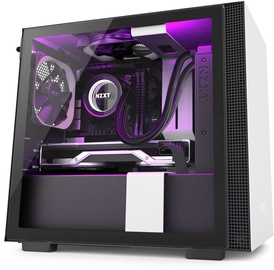 NZXT H210i mITX Mini-Tower Black/White
