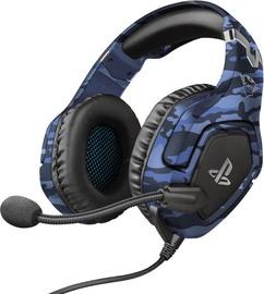 Trust GXT 488 Forze-B Over-Ear Gaming Headphones Blue