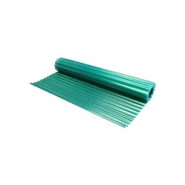 Brianza Plastica Polyester Roofing Panel Green 18/76 2.5x20m