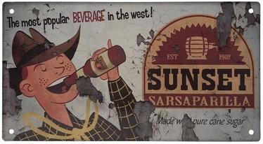 Fanattik Fallout Sunset Sarsaparilla Metal Sign