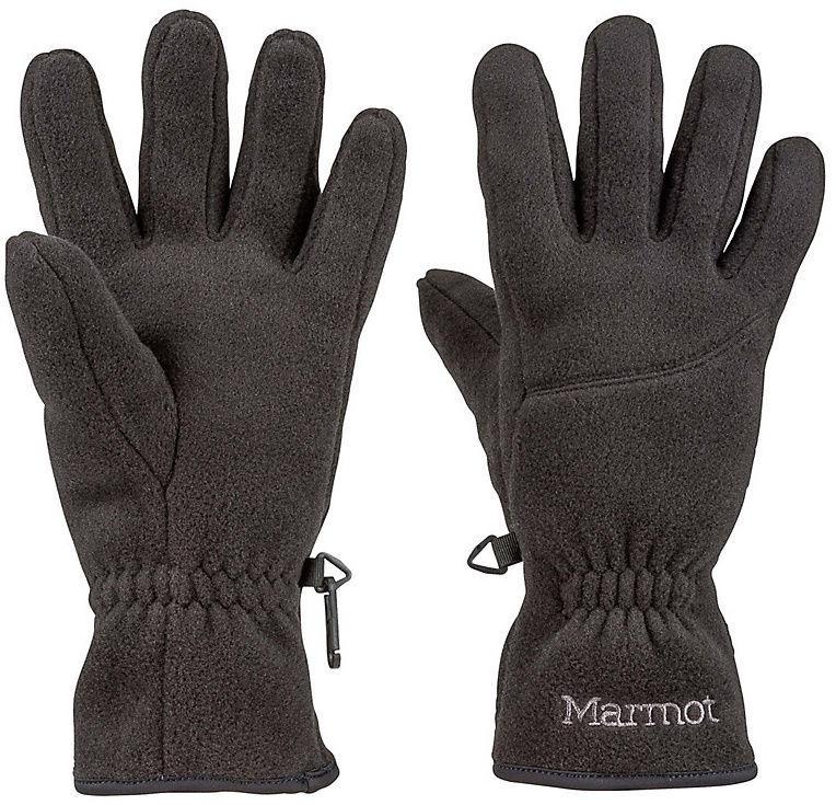 Перчатки Marmot Fleece Black, L