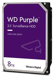 Servera cietais disks (HDD) Western Digital Purple Surveillance, 128 MB, 8 TB
