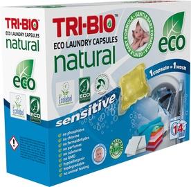 Kapsulas mazgāšanai Tri-Bio Sensitive, 14 gab.