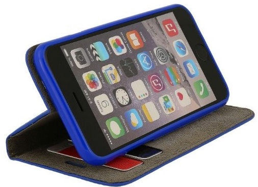 Mocco Smart Modus Book Case For Apple iPhone 7/8 Blue