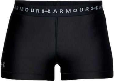 Under Armour Womens HeatGear Armour Shorty 1309618-001 Black L