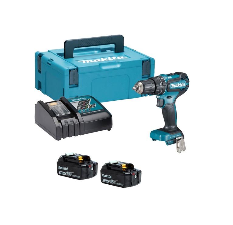 Akumulatora skrūvgriezējs - urbis Makita DHP485RFJ