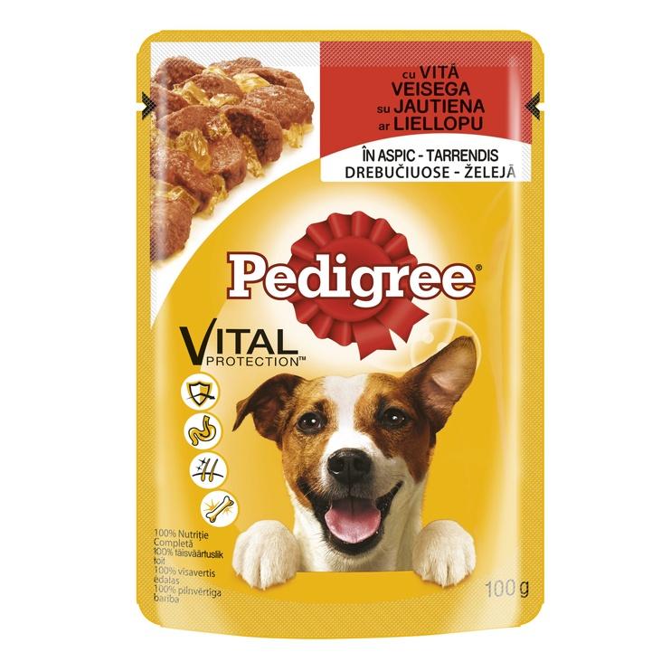 Suņu barība Pedigree adult ar liellopu gaļu