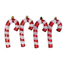 Ziemassvētku eglītes rotaļlieta Christmas Touch N3/L515304ABS, 4 gab.