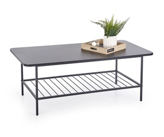 Kafijas galdiņš Halmar Atlanta Black, 980x560x450 mm