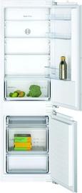 Встраиваемый холодильник Bosch KIV86NFF0, морозильник снизу
