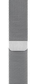 Apple 44mm Silver Milanese Loop