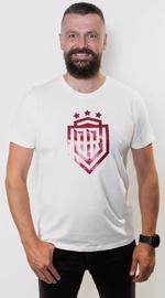 T krekls ar īsām piedurknēm Dinamo Rīga Men T-Shirt White/Red XXXL