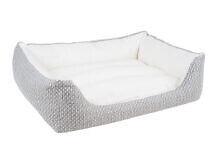 Dzīvnieku gulta Amiplay Morgan, balta, 900x1140 mm