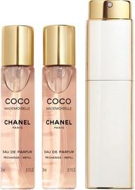 Sieviešu smaržu komplekts Chanel Coco Mademoiselle 3pcs Set 60 ml EDP