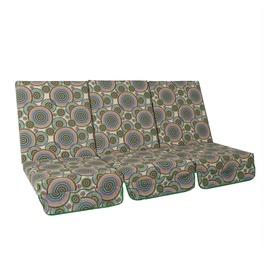Krēsla spilvens Home4you Montreal, 114x52x9cm, 3 gab.
