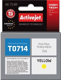 ActiveJet Cartridge AE-714R For Epson 7ml Yellow