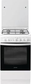 Indesit Freestanding Cooker IS5G2PHW/EU Black/White