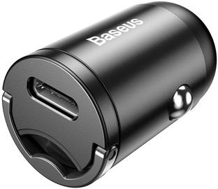 Baseus Tiny Star Mini USB Type-C Car Charger Grey