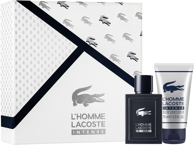 Lacoste L'Homme Intense 50ml EDT + 75ml Aftershave Balm