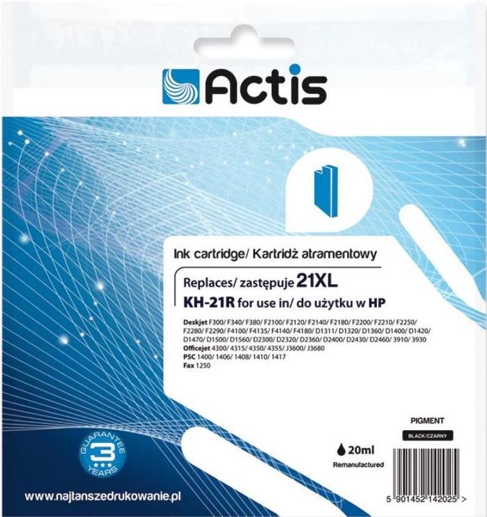 Actis Cartridge For HP 20ml Black