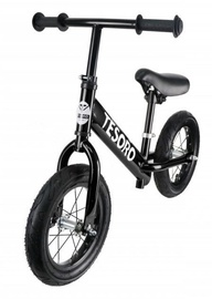 Tesoro PL-12 Balance Bike Black Matt