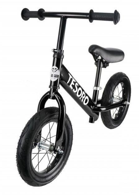 Балансирующий велосипед Tesoro PL-12 Black Matt
