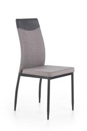 Ēdamistabas krēsls Halmar K276 Grey/Black