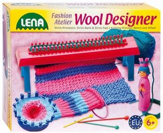 Творческий набор для вязания Lena Woll Designer Knitting Princess, Bench And Wheel 42681