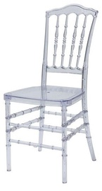 Ēdamistabas krēsls MN Loris Transparent 2866053