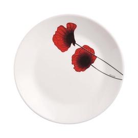 Šķīvis Luminarc, balta/sarkana, 200 mm
