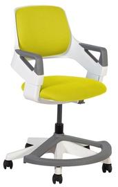 Bērnu krēsls Home4you Rookee Mustard Yellow, 640x370x930 mm