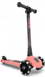 Scoot And Ride Highway Kick 3 LED Peach 96357