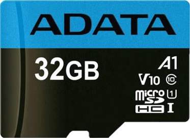 Atmiņas karte microSDHC 32GB C10 Premier ADATA
