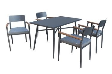Комплект уличной мебели Domoletti 3146+932, серый, 1-4 места