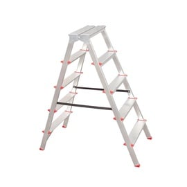 HausHalt C04CNP/05 Double-Sided 5-Steps Ladders