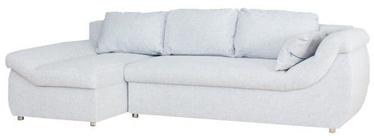 Stūra dīvāns Bodzio Rojal Grey, kreisais, 258 x 145 x 73 cm