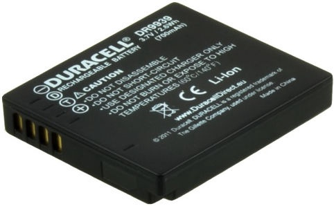 Duracell Premium Analog Panasonic DMW-BCF10 Battery 700mAh