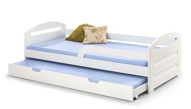 Bērnu gulta Halmar Natalie 2 White, 209x96 cm