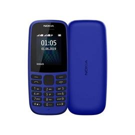 Мобильный телефон Nokia 105 2017 2019, синий/4MB