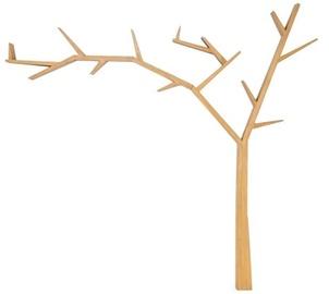 Signal Meble Poprad Tree Shaped Shelf Left Side Oak