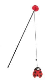 Rotaļlieta kaķim Beeztees Ladybug 440526, 40 cm