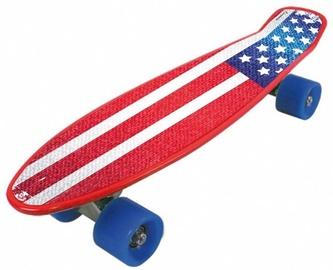 Skrituļdēlis Nextreme Freedom Pro USA, sarkana