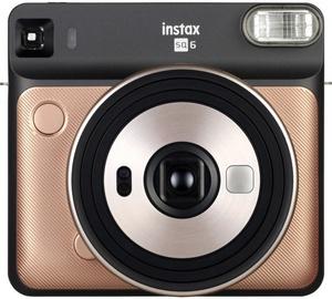 Fujifilm Instax Square 6 Blush Gold + Instax Square Glossy