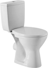Туалет Cersanit UN501-004, с крышкой, 350 мм x 730 мм
