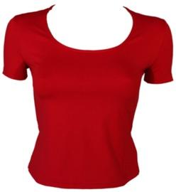 T-krekls Bars Womens T-Shirt Red 119 2XL