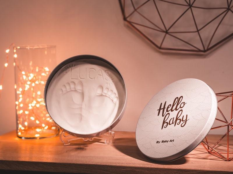 Komplekts roku / kāju zīmogu izveidei Baby Art 3601094100