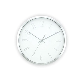 SN Wall Clock D25.2cm White