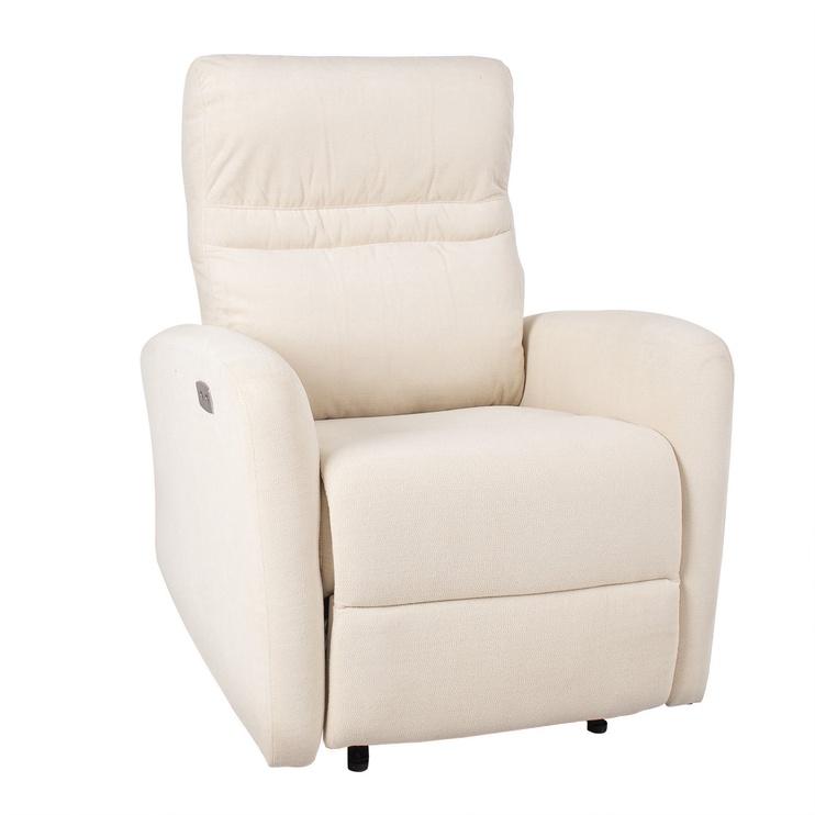 Atzveltnes krēsls Home4you Sahara Beige, 79x90x102 cm