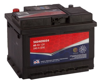 AD Baltic 560409054 Starter Battery 60Ah