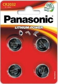 Panasonic Lithium Battery CR2032 x4